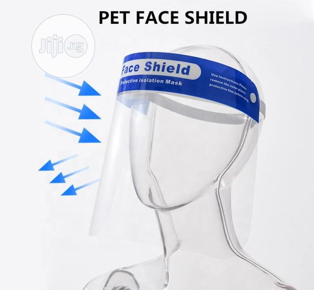 Original Face Shield Customized | Safety Equipment for sale in Ikeja, Lagos State, Nigeria