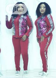 Shinning Wine Track Suit | Clothing for sale in Oyo State, Ibadan