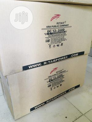 200ah 12v Ritar Battery Available With 1yr Warranty | Solar Energy for sale in Lagos State, Lekki