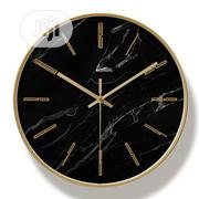 Medium Sized Minimalist Metal Wall Clock   Home Accessories for sale in Lagos State, Magodo