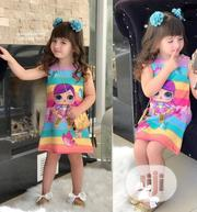 LOL Rainbow 2pc Dress For Girls   Children's Clothing for sale in Ondo State, Akure