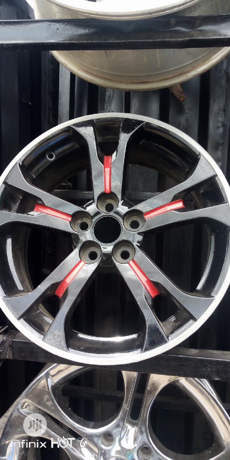 18inch Alloy Rims - Tokunbo