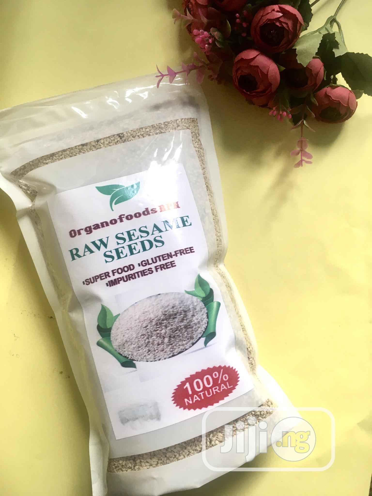 Archive: Organofoods RPN Raw Sesame Seeds