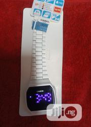 Casio Men White Wristwatch | Watches for sale in Lagos State, Surulere