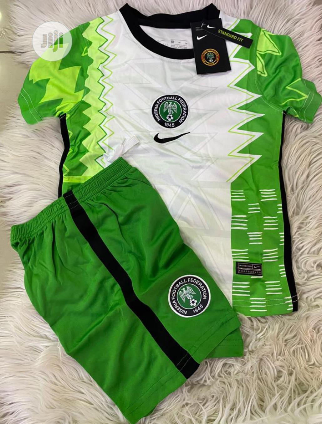 Nigeria Official Super Eagles Baby Home Jerseys. | Children's Clothing for sale in Surulere, Lagos State, Nigeria