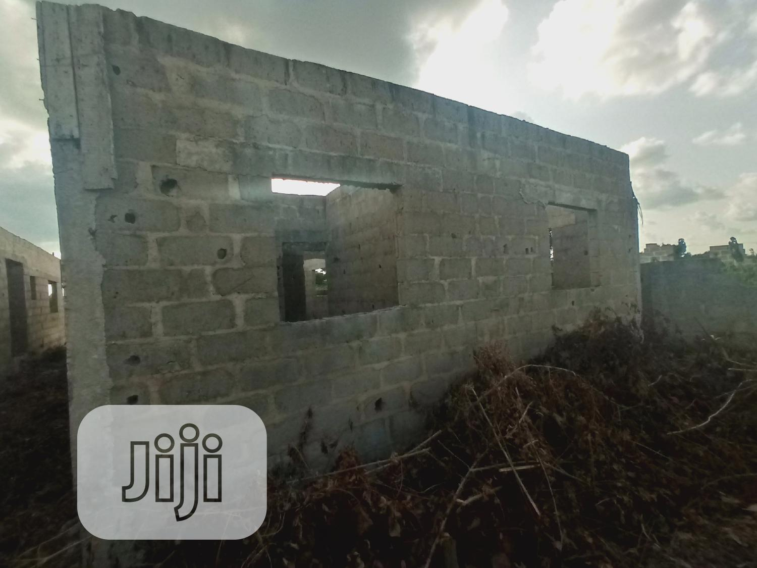 This Is Two Building Of 3 Bedroom Flat On 600sqm At Roofing Stage | Houses & Apartments For Sale for sale in Ado-Odo/Ota, Ogun State, Nigeria
