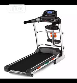 3hp German Machine Treadmill With Massager,Mp3 and Dumbbells   Sports Equipment for sale in Lagos State, Lekki