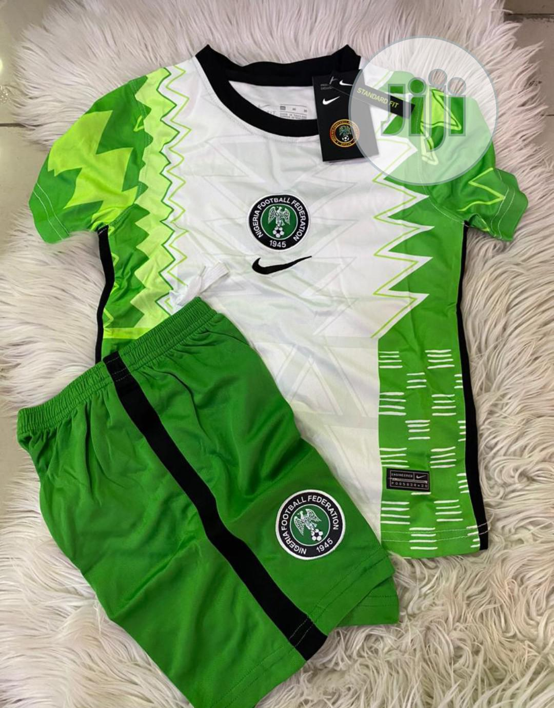 Nigeria Official Super Eagles Baby Home Jerseys.