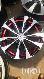 Red Design 17inch Wheels | Vehicle Parts & Accessories for sale in Lagos State, Mushin