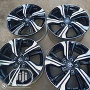 Black And Silver 17inch Wheel Design | Vehicle Parts & Accessories for sale in Lagos State, Mushin