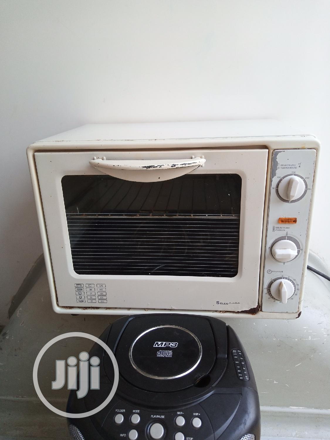 Archive: Tokunbo Electric Oven