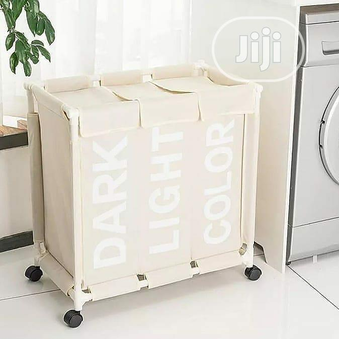 Laundry Basket With Wheels | Home Accessories for sale in Alimosho, Lagos State, Nigeria
