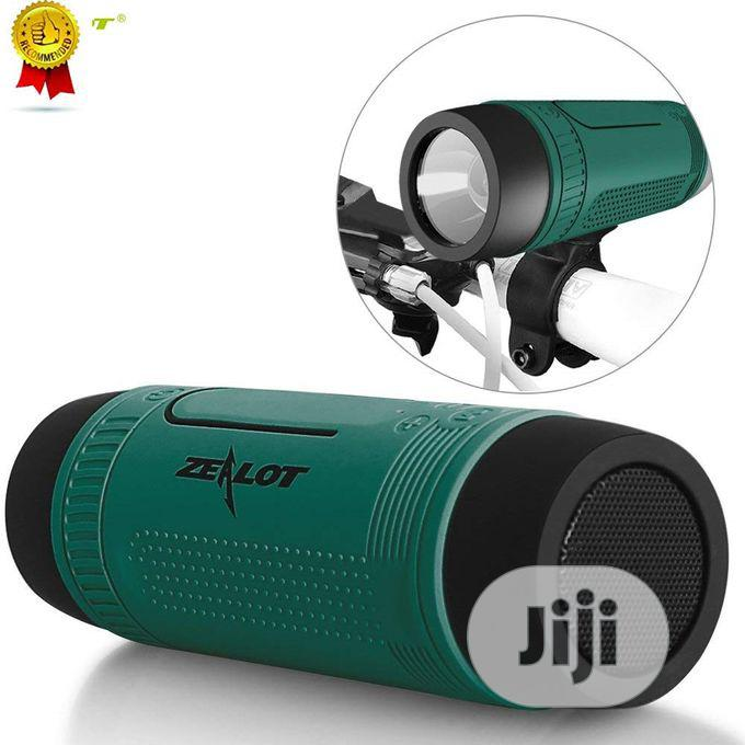 Zealot S1 Bluetooth Speaker With Flashlight | Audio & Music Equipment for sale in Ikeja, Lagos State, Nigeria