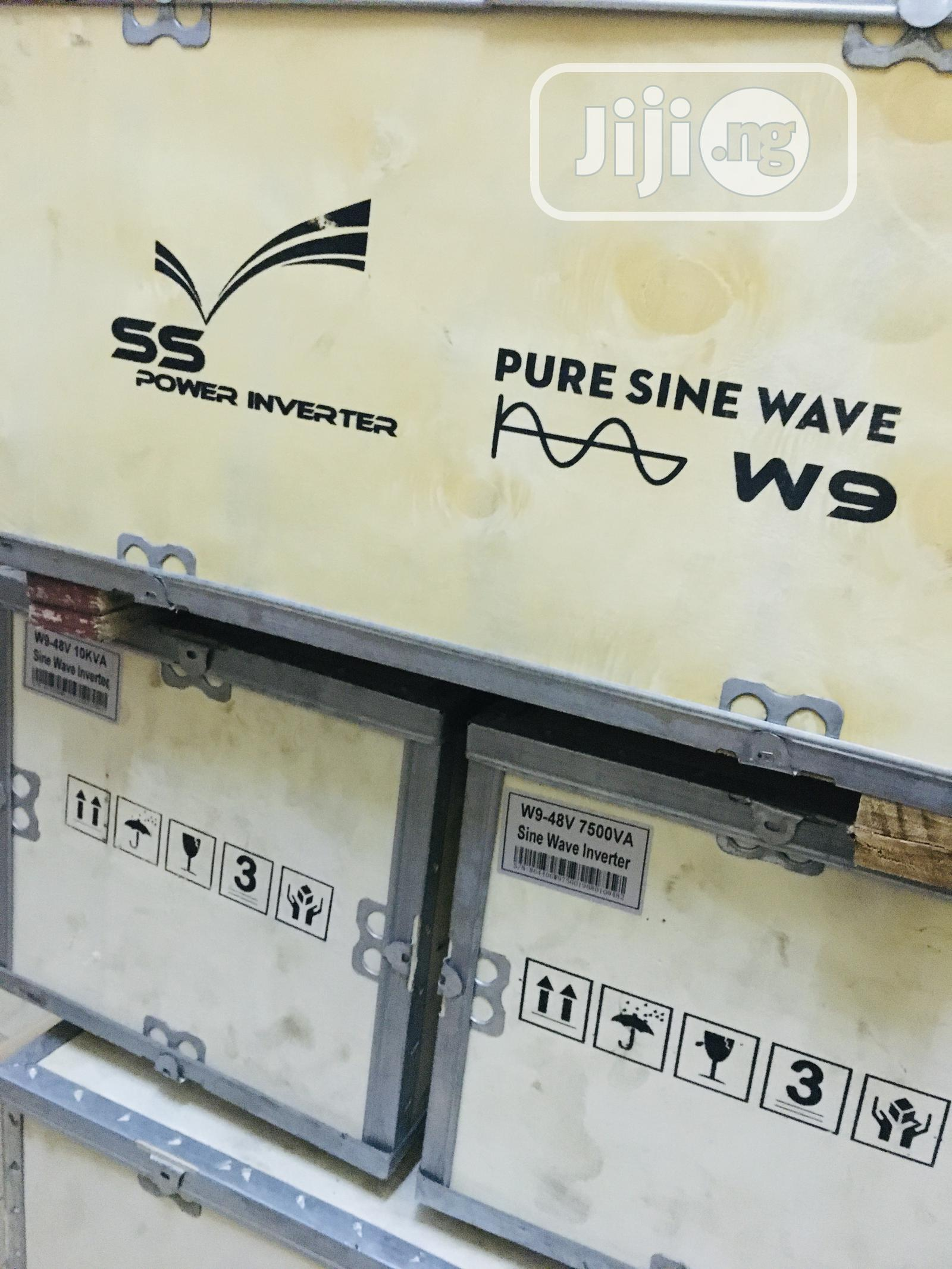 7.5kva 48v Ss Power Pure Sine Wave Inverter Availablewith 1yr Waranty