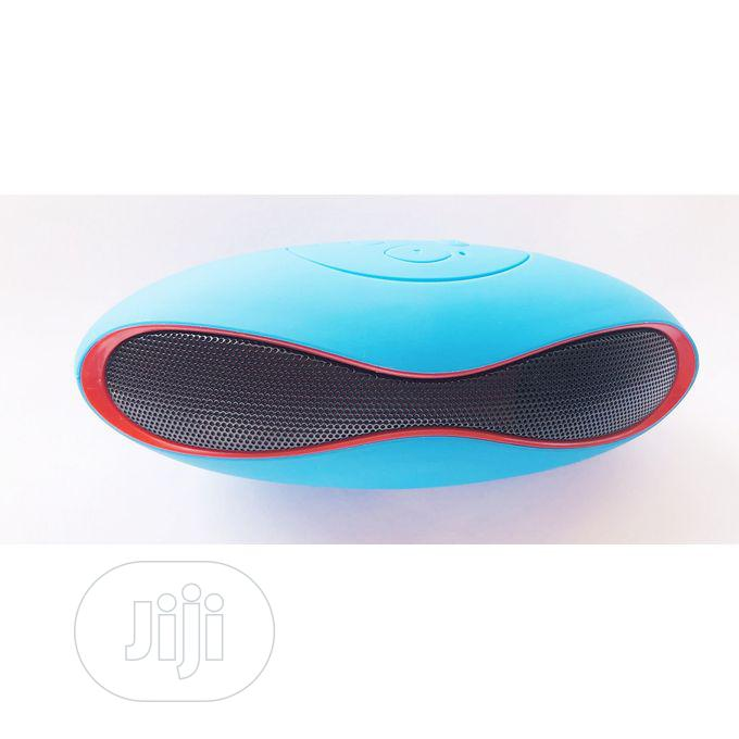 X6 Card Mini Wireless Bluetooth Wireless Speaker BLUE | Audio & Music Equipment for sale in Ikeja, Lagos State, Nigeria