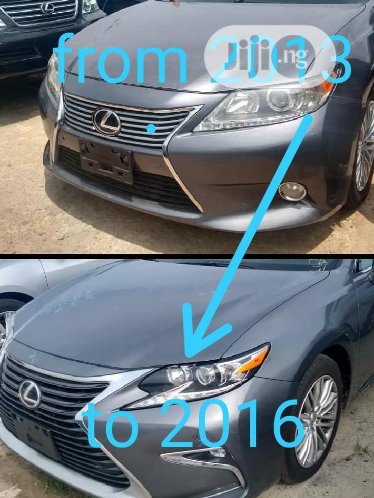 Upgrading Of Lexus Car From 2013 To 2016