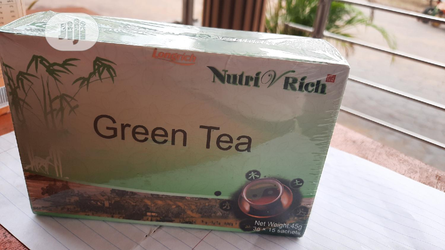 Longrich Green Tea | Vitamins & Supplements for sale in Ifako-Ijaiye, Lagos State, Nigeria