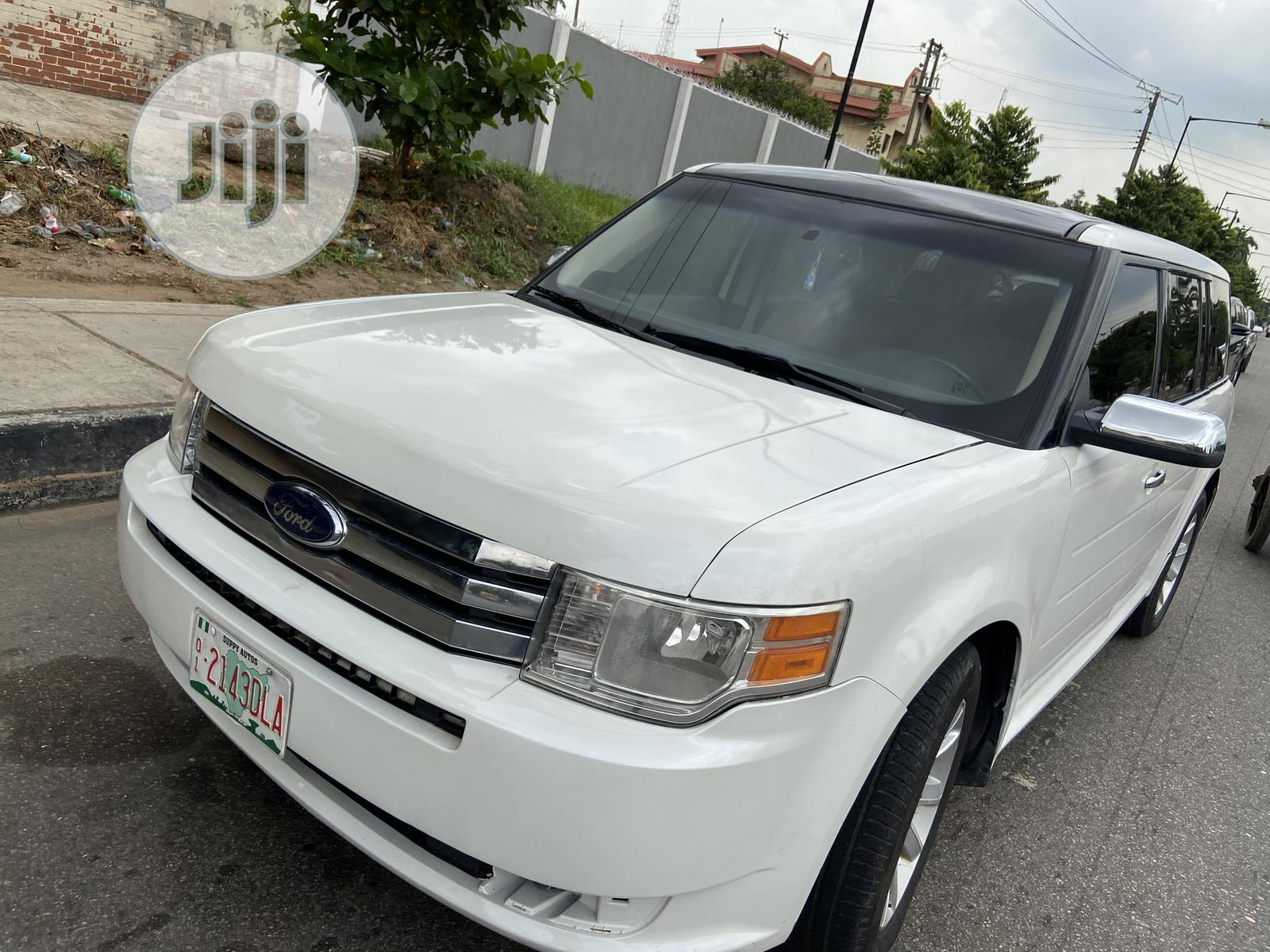 Ford Flex 2011 Limited White