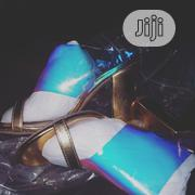 Gold High Shoe | Shoes for sale in Abuja (FCT) State, Jabi
