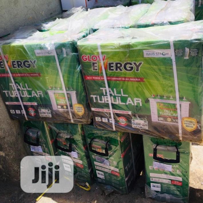 12v 220ah Tall Tubular Battery Available