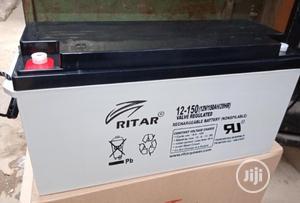 12v 150ah Rita Battery Available | Solar Energy for sale in Lagos State, Ojo