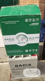 26ah Gacia Battery | Solar Energy for sale in Lagos State, Ojo