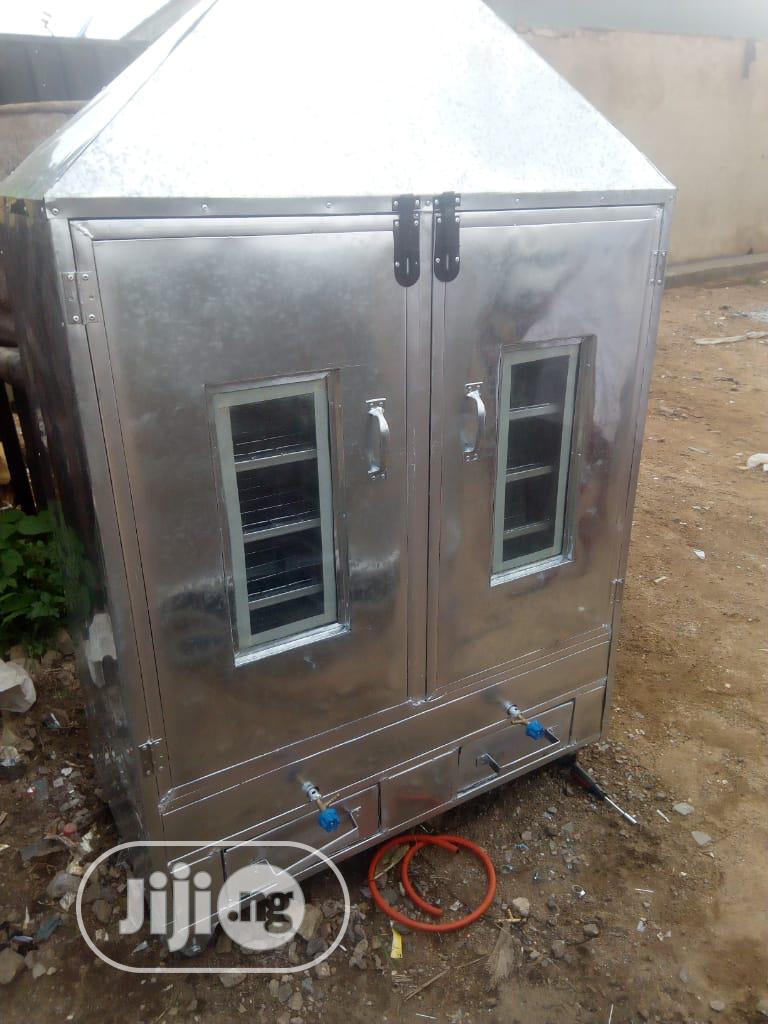500kg Full Stainless Smoking Kiln