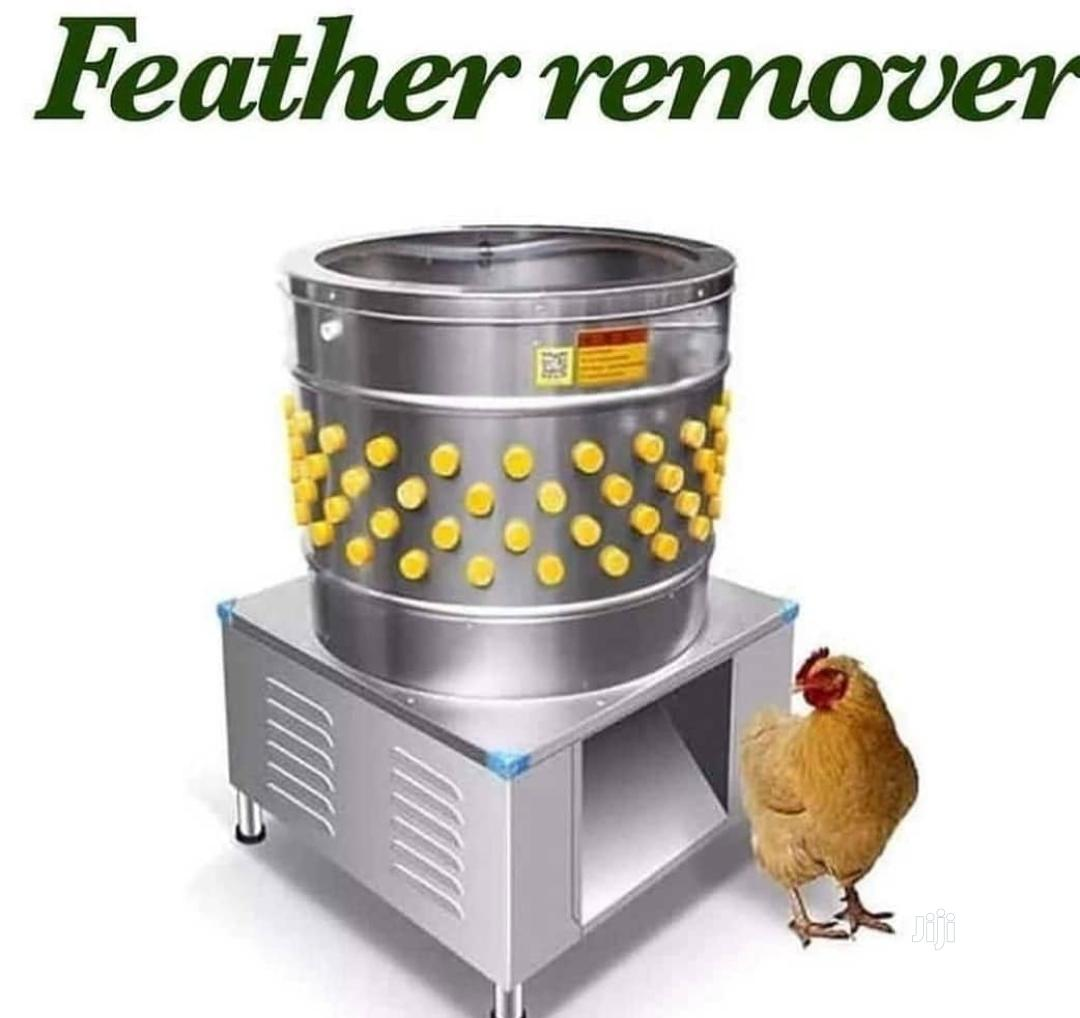 Chicken Feather Remover