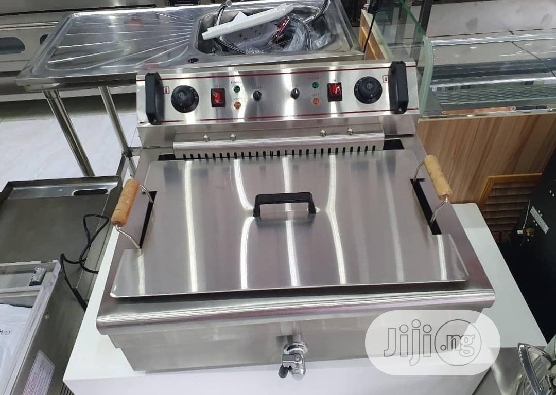 Deep Gas Fryer