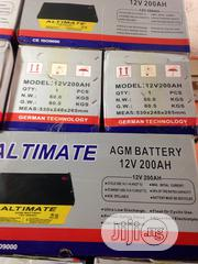 200ah Battery With One Year Warranty | Solar Energy for sale in Lagos State, Ojo