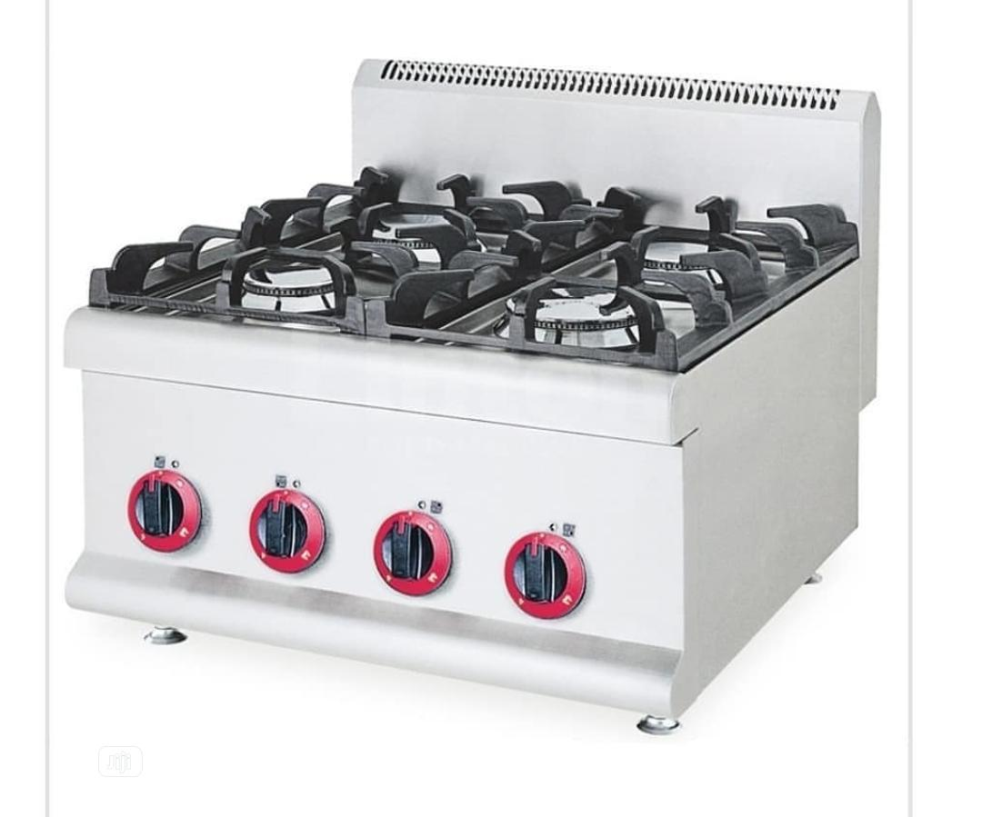 Four Burner Table Top Gas Cooker