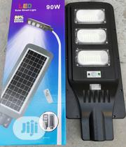 90w Soler Street Light With Remote Control And Emotional Sensor   Solar Energy for sale in Ogun State, Abeokuta South