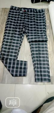 Good Quality Designers Gucci, VERSACE Checker Pants Trousers All Size | Clothing for sale in Lagos State, Lagos Island