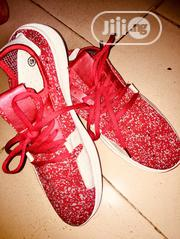 Red Mesh Sneakers | Shoes for sale in Edo State, Benin City
