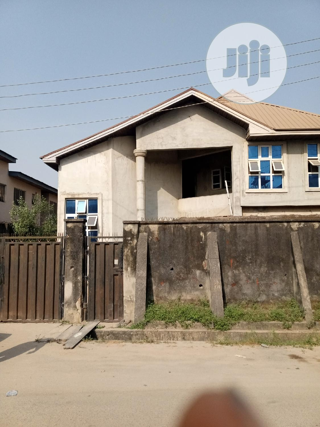 80% Completed 8bedroom Detached House With BQ