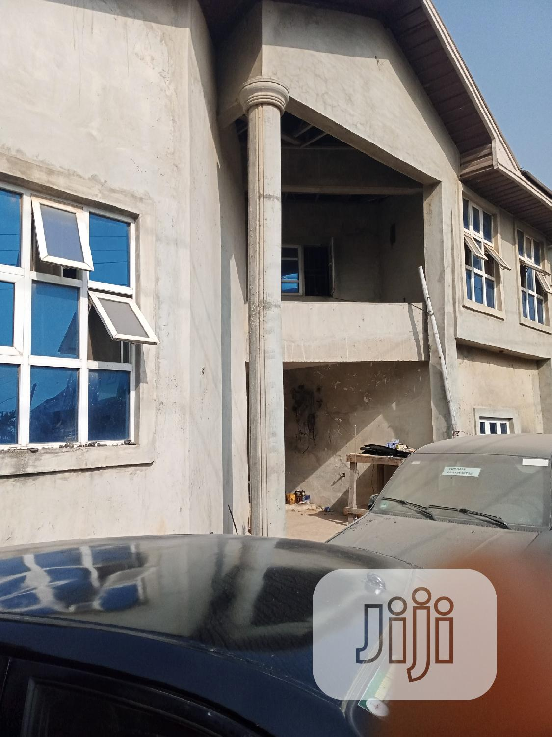 80% Completed 8bedroom Detached House With BQ   Houses & Apartments For Sale for sale in Oshodi, Lagos State, Nigeria