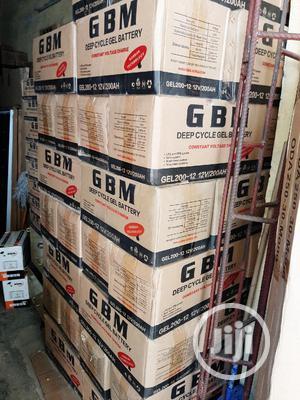 12V 200ah Gbm Solar Battery | Solar Energy for sale in Lagos State, Ojo
