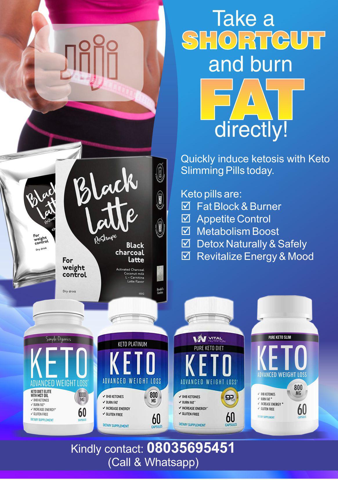 Black Latte/Keto Pills