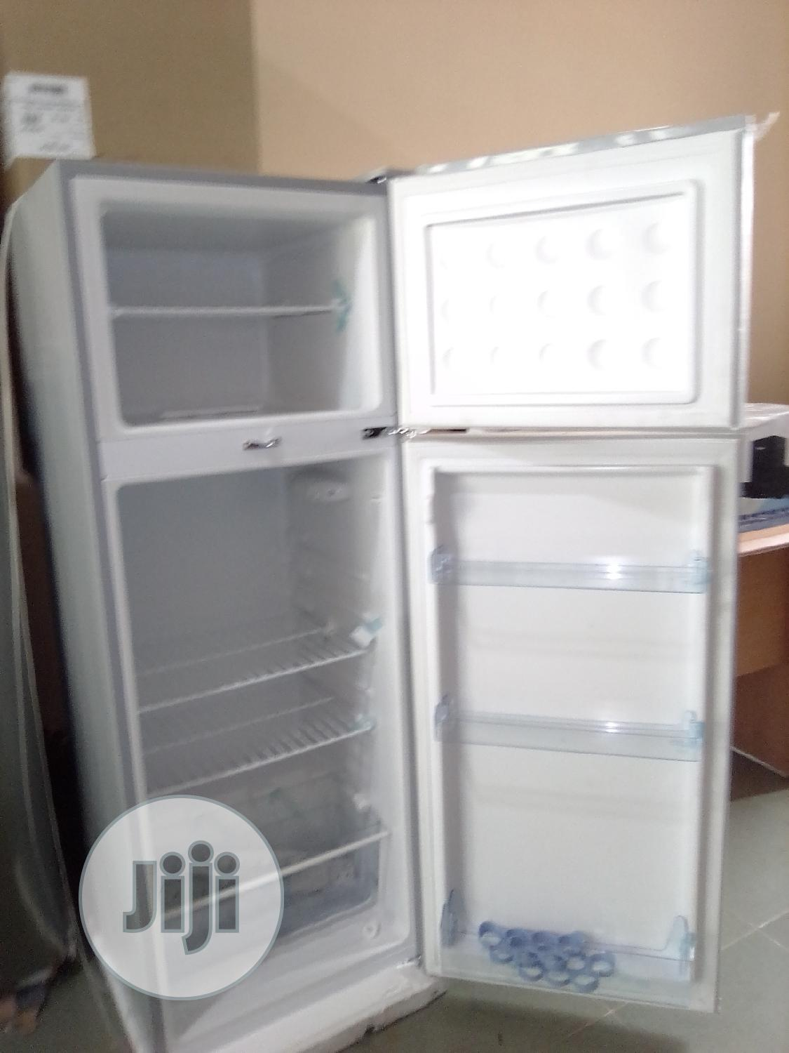 BRUHM-REFRIGERATOR 225 LITERS /Double Door/Silver-brd-225-dd | Kitchen Appliances for sale in Central Business Dis, Abuja (FCT) State, Nigeria