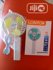 Rechargeable Mini Fan Lontor | Home Appliances for sale in Lagos State, Ajah