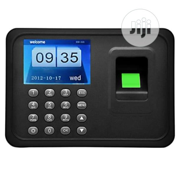 Biometric Time Attendance Register With In-built Battery