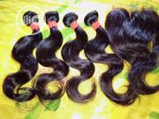 12 Inches Indian Wave + Closure   Hair Beauty for sale in Edo State, Benin City