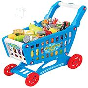 Mini Shopping Cart With Full Grocery Food Toy Playset For Kids | Toys for sale in Lagos State, Amuwo-Odofin