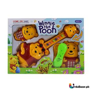 Pooh Music Word Music Guitar And Telephones Toy   Toys for sale in Lagos State, Amuwo-Odofin