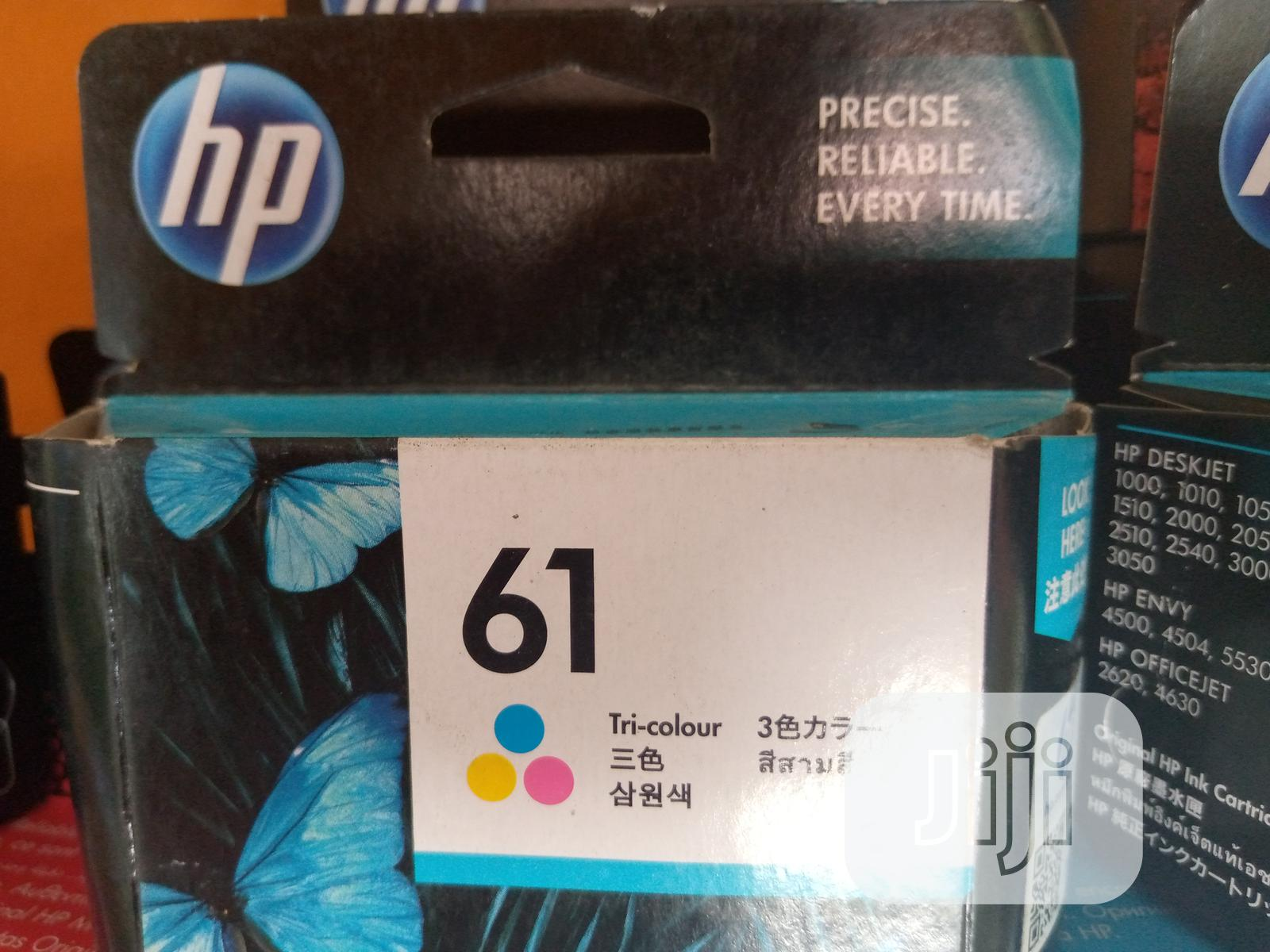 61 Colored Ink HP