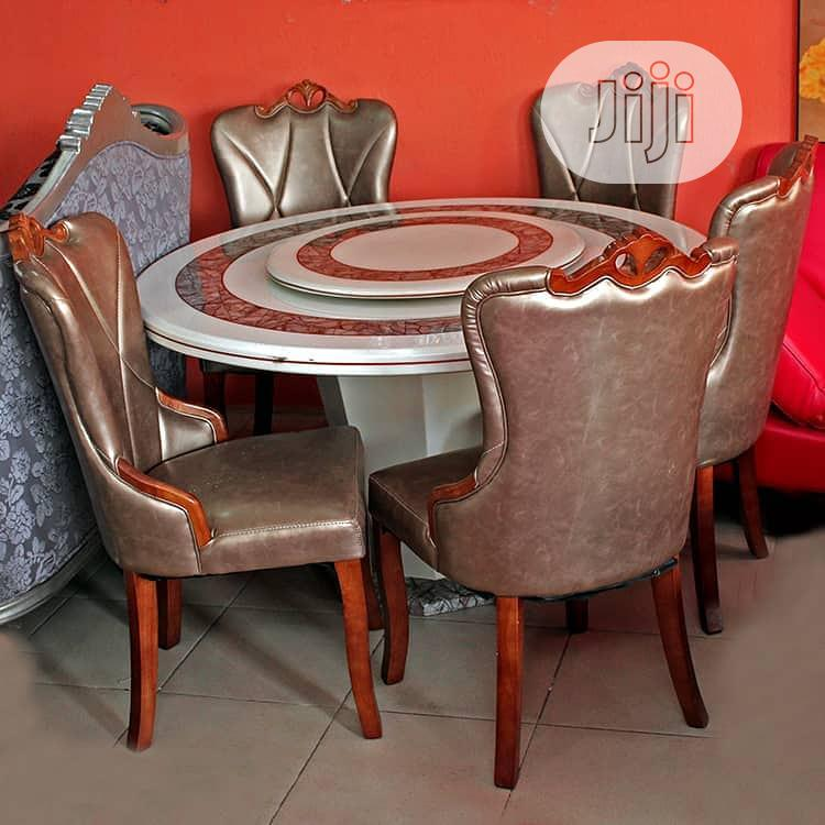 Archive: Round Mabel Dining Table by 6