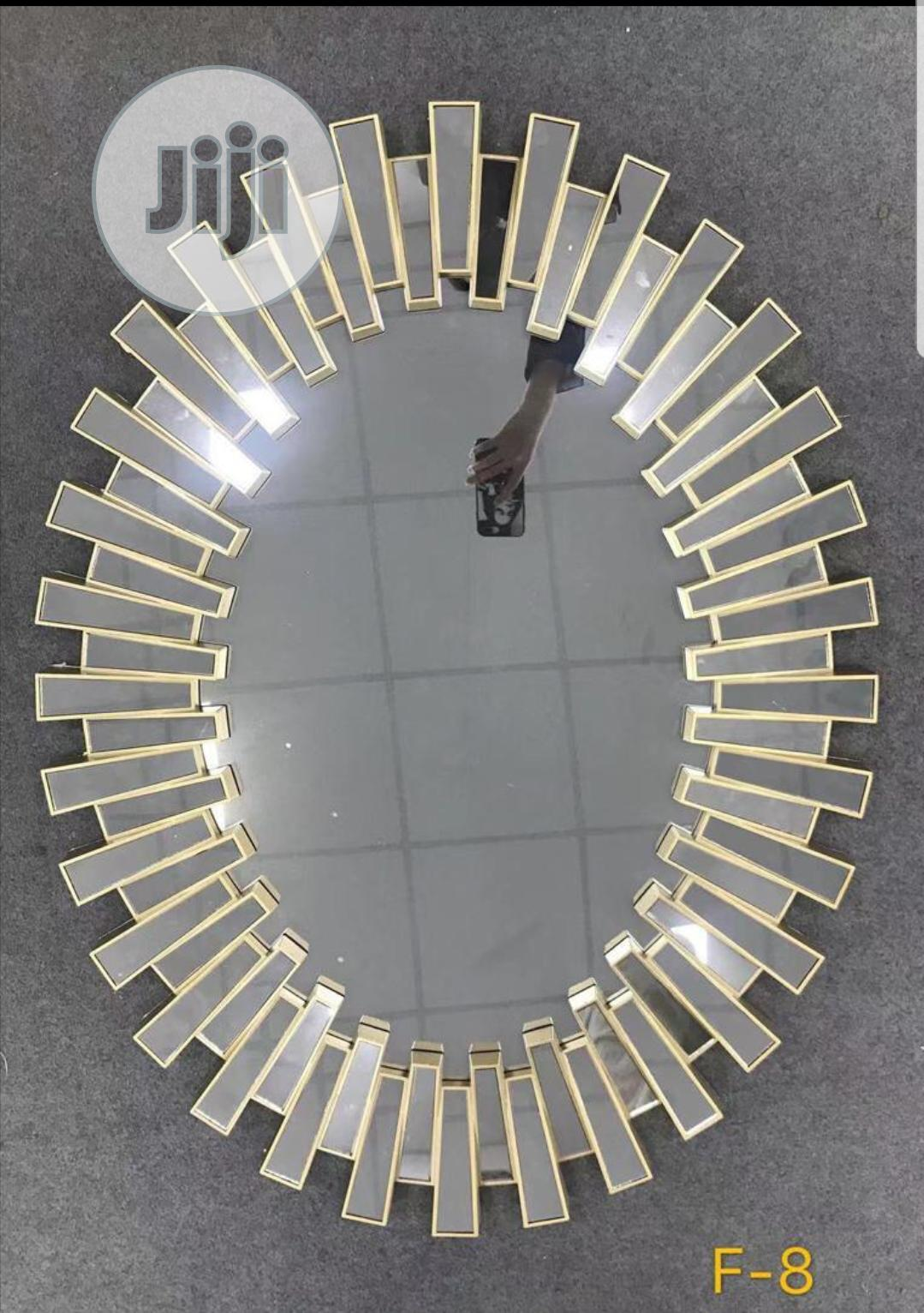 Oval Gold Venetian Wall Mirror In Lekki Phase 2 Home Accessories Tintas Sense Designs Jiji Ng For Sale In Lekki Phase 2 Buy Home Accessories From Tintas Sense Designs On Jiji Ng
