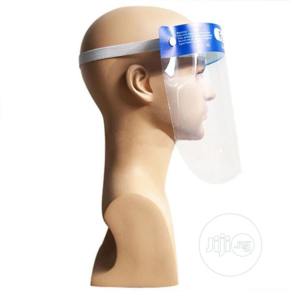 Archive: Made In Nigeria Average Quality Transparent Face Safety Shield