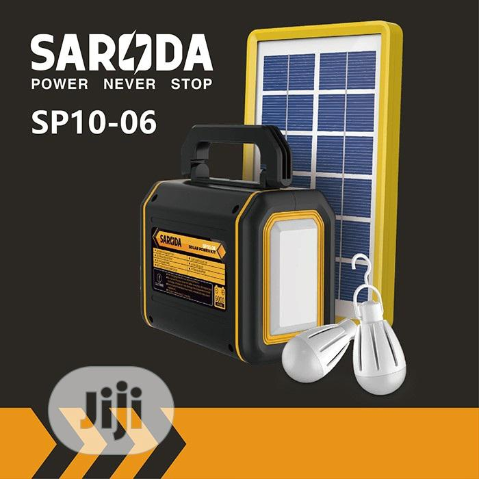 Saroda Solar Power Kit - SP10-06, With Earring With Pendant Gift.