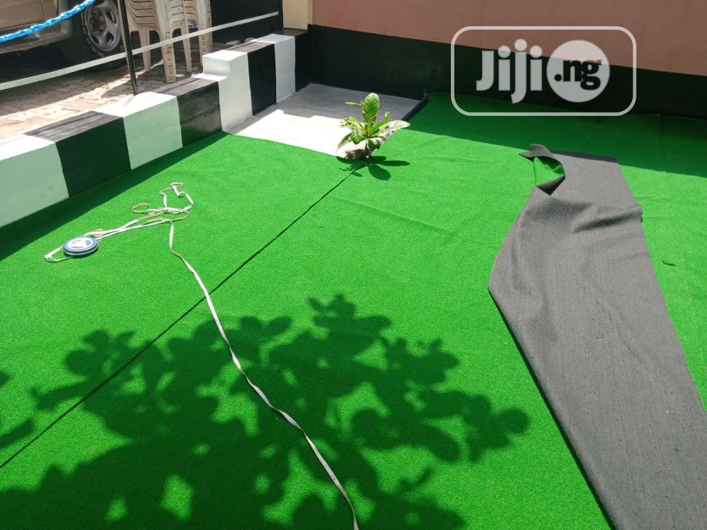 Thick 30 Mm Green Golf Grass Design And Decorations